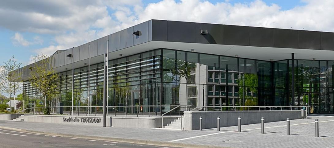 Die Location: Stadthalle Troisdorf